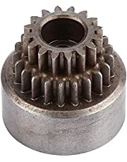 Campana de embrague RC, 02023 Campana de embrague de metal (engranajes dobles) para HSP 94122 Nitro 1/10 Vehículo de deriva de automóvil