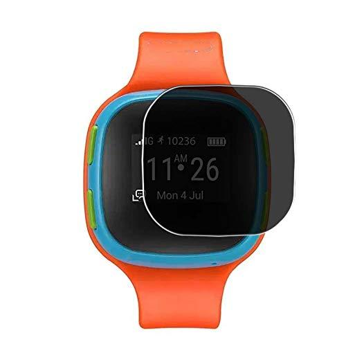 Vaxson Anti Spy Schutzfolie, kompatibel mit Alcatel CareTime smartwatch Smart Watch, Displayschutzfolie Privatsphäre Schützen [nicht Panzerglas]
