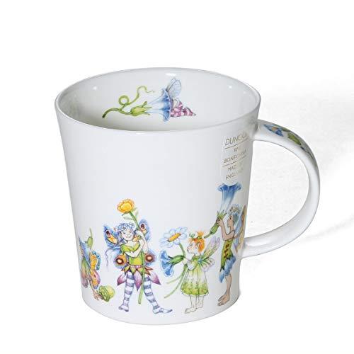 Dunoon Taza de porcelana fina con forma de lomond, fabricada en Inglaterra