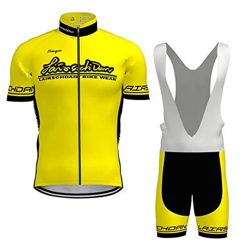 Hengxin Maillot Ciclismo Corto De Verano para Hombre, Ropa Culote Conjunto Traje...