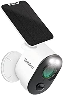 UNIDEN - APPCAM Solo PRO - WiFi Full HD Smart Camera - Single Pack with Solar Panel (SPS-02)