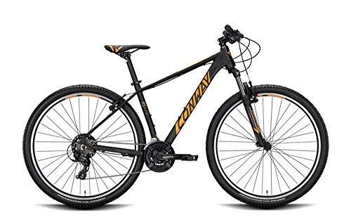 ConWay MS 329 Herren Mountainbike Fahrrad Black matt/orange 2020 RH 41 cm / 29 Zoll