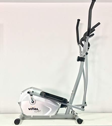 VITAL GYM H7 Bicicleta Elíptica, Adultos Unisex, Multicolor, Talla Única