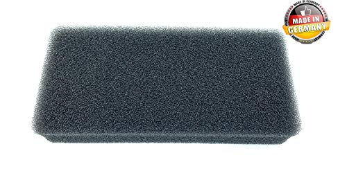 Filter für Gorenje 327136 Trockner Wärmepumpentrockner | 100{b84d3db76b0f06988f4740ca2d35deb88c1f97569b2c2895481bd12a318f17a1} Made in Germany | 225 x 105 x 30mm | Schwammfilter Filtermatte Kondenstrockner | SPK2 SP10 SP-10 | Schaumstoff Sponge