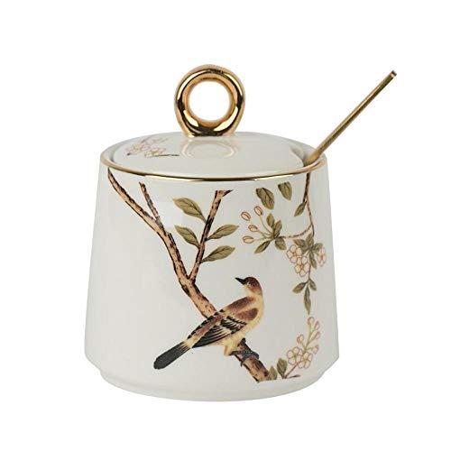 Ykun Salz, MSG-Box, Gewürzglas, Gewürzflaschenbox, Keramik-Salzstreuer-D.