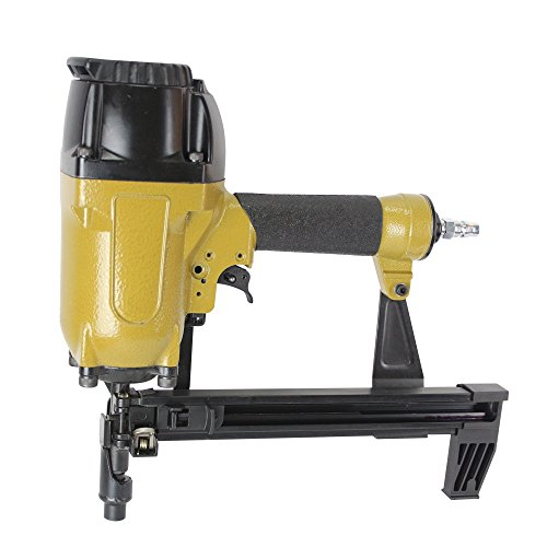 meite CS3025 12 Gauge 1/2-Inch to 1-Inch Leg Length Pneumatic Concrete Nailer and Steel Pinner for Wood to Concrete/Steel Applications