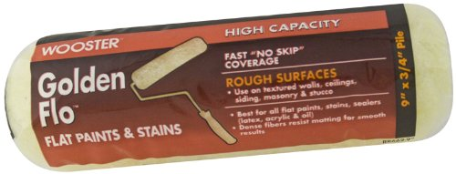 Wooster Brush RR662-9 Golden Flo Roller Cover 3/4-Inch Nap