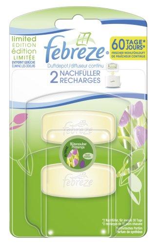 Febreze Duftdepot Blütenzauber Nachfüller, 4er Pack (4 x 11 ml)