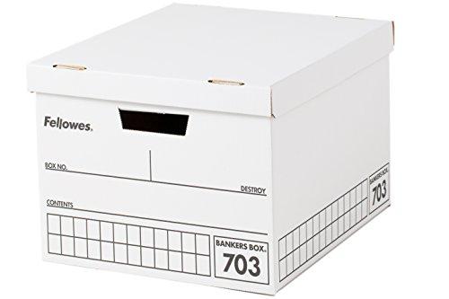 フェローズ バンカーズボックス 703 A4サイズ 黒 3枚1セット 収納ボックス ふた付き 0970302