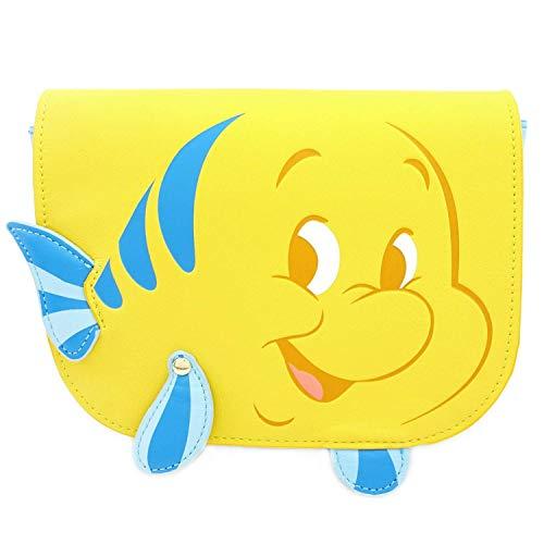 Loungefly The Little Mermiad Flounder Saffiano Fau Standard