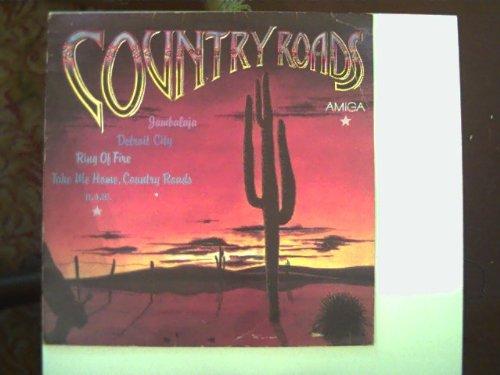 Country Roads. Western-und Country-Titel. AMIGA 8 56 121; Vinyl record [Vinyl-LP] Jam-Session bekannter DDR- Rockmusiker.