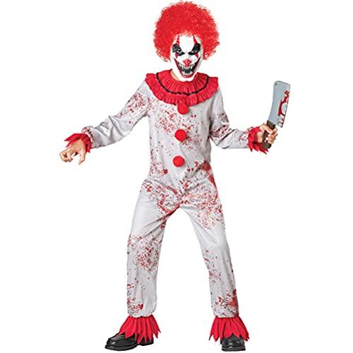 LYXCM Halloween Böser Clown-Kostüm,...