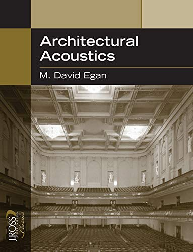 Price comparison product image Architectural Acoustics (J Ross Publishing Classics)