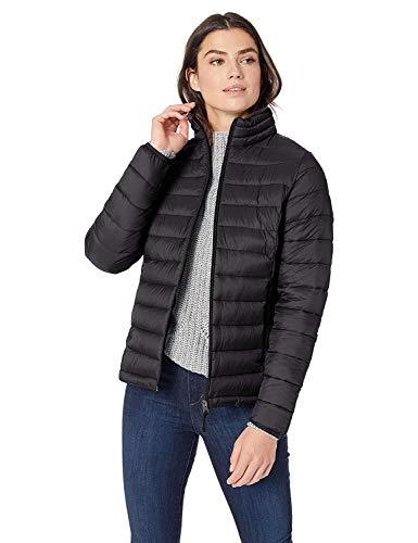 Amazon Essentials Damen Lightweight Water-resistant Packable Puffer Jacket Steppjacke,Schwarz(Schwarz),X-Large