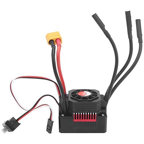 Gatuxe Controlador de Velocidad eléctrico Impermeable a Prueba de Polvo Surpass ‑ Hobby 45A Controlador de Velocidad eléctrico Impermeable, múltiples Funciones de protección Controlador
