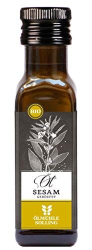 Ölmühle Solling Sesamöl geröstet, bio, Naturland, Fair, 100 ml, geeignet für vegane und vegetarische Ernährung