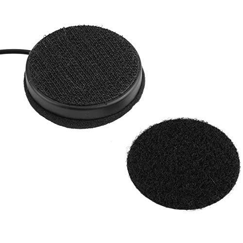 2Pcs Casques de Moto BT /Écouteur Haut-Parleur Sans Fil de Moto avec C/âble dAlimentation Casques de Moto Appel Main Libre