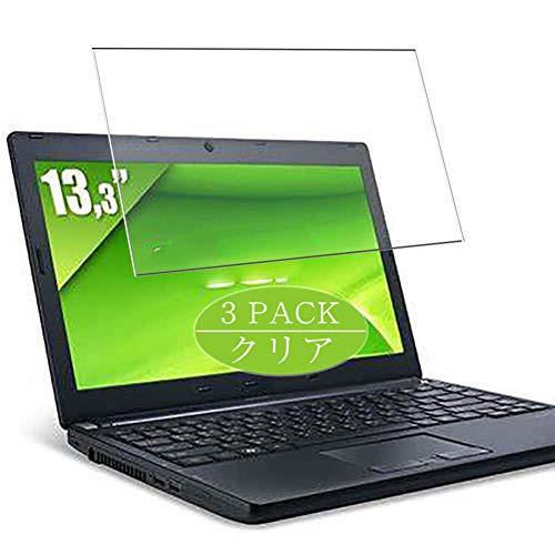 Vaxson TPU Pellicola Protettiva, compatibile con Acer Travelmate P633-M/P633-V 13.3', Screen Protector Pacco da 3 [ Non Vetro Temperato ]