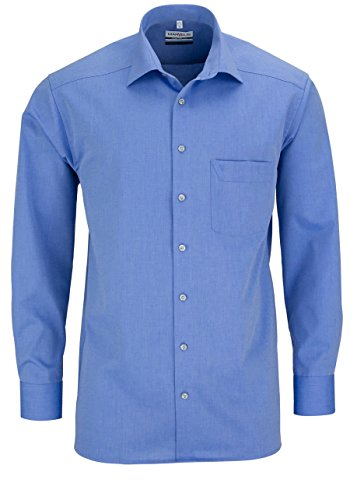 MARVELiS-Hemd 7959-64-13 blau langarm: Kragenweite: 46 | Farbe: 13/blau