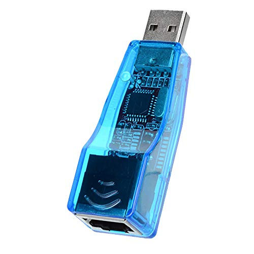 Adaptador USB para Lan Ethernet Cabeada Placa de Rede Externa RJ45 10/100 Exbom UL-100
