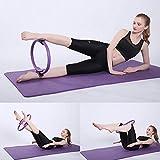vitihipsy Frauen Pilates Widerstand Yoga Ring Doppelgriff Fitness Kreis Pilates