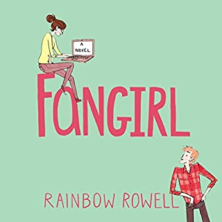 Fangirl                   By:                                                                                                                                 Rainbow Rowell                               Narrated by:                                                                                                                                 Maxwell Caulfield,                                                                                        Rebecca Lowman                      Length: 12 hrs and 49 mins     201 ratings     Overall 4.4