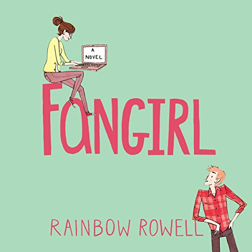 Fangirl                   By:                                                                                                                                 Rainbow Rowell                               Narrated by:                                                                                                                                 Maxwell Caulfield,                                                                                        Rebecca Lowman                      Length: 12 hrs and 49 mins     86 ratings     Overall 4.4