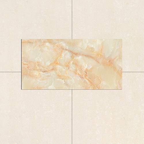 4 pegatinas para azulejos, autoadhesivas, resistentes al calor, impermeables, para sala de estar, cocina, decoración de pared extraíble (30 x 60 cm)