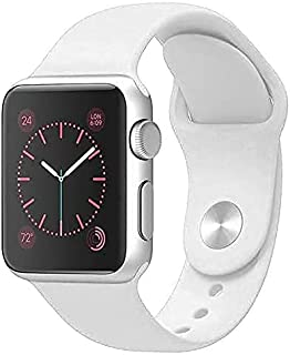 Zege compatible with Apple Watch Band 38mm 40mm,Soft Silicone Fitness Replacement Accessories Straps Wristbands for iWatch...