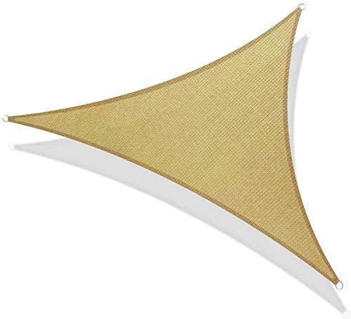Wasserdichter Sonnenschutz Dreieck Sonnenschirm Außenüberdachung Garten Patio Pool Shades Segel Markise Camping Schatten Stoff Groß