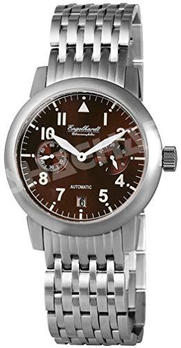 Engelhardt Herren Analog Mechanik Uhr mit Edelstahl Armband 388927028002