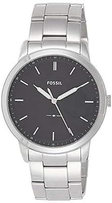 Fossil la minimalista three-hand reloj