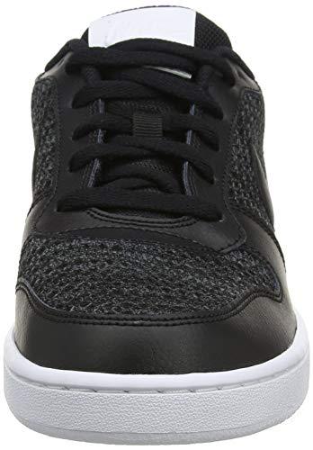 Nike Ebernon Low Prem Zapatos de Baloncesto Hombre, Gris (Dark Grey/Black-White 001), 42 EU