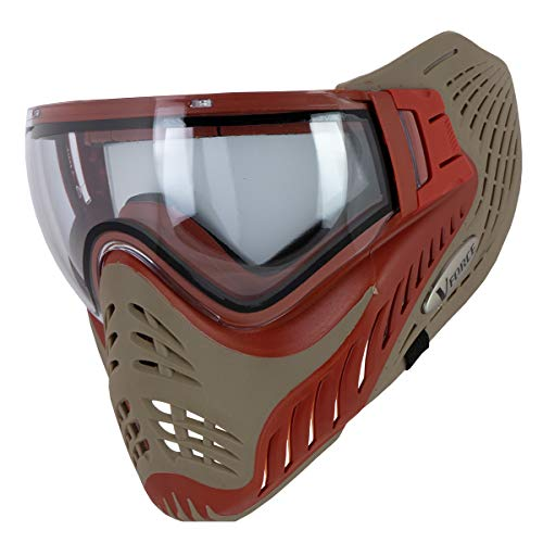 VForce Profiler Thermal Paintball Mask/Goggle - Red on Tan