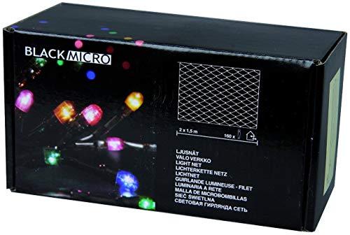 Best Season 590-41 Filet lumineux Noir 160 mini-LED