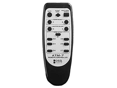 OSD Audio 7-Zone Automatic Speaker Selector - 400W with IR Remote Control - ATM7