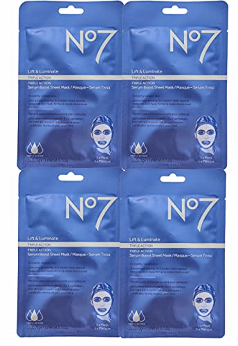 No7 - Siero a tripla azione Lift & Luminate Triple Action, Maschera viso