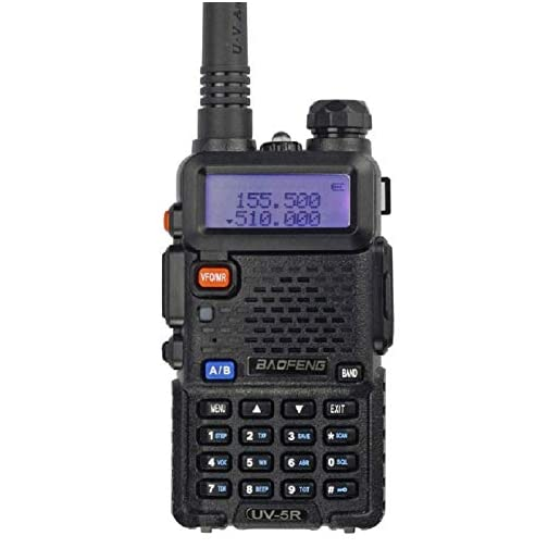 BaoFeng UV-5R Dual Band Two Way Radio (Black) 3