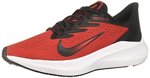 Nike Air Zoom Winflo 7 Mens Casual Running Shoe (University Red/Black-White, Numeric_11)