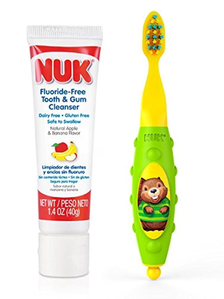 時計墓NUK Toddler Tooth and Gum Cleanser, 1.4 Ounce, (Colors May Vary) by NUK [並行輸入品]