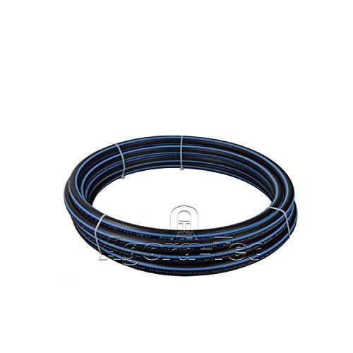 Agora-Tec PE-Rohr 20,0 x 2,0 mm 1/2 Zoll Hart (10 Meter Rolle) max. 12.5 bar SDR11