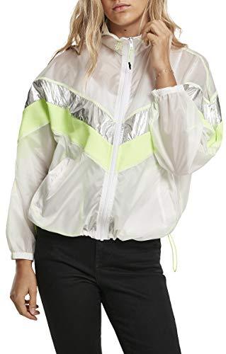 Urban Classics dames windjack Ladies 3 -Tone Light Track Jacket