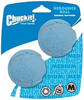Chuckit! Rebounce Dog Ball Natural Recycled Rubber 2 -Pack
