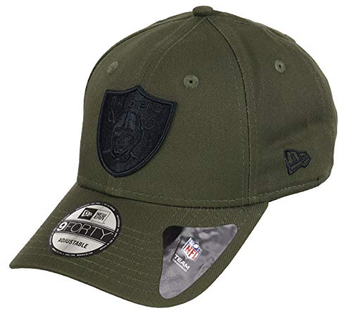 New Era Oakland Raiders 9forty Adjustable Cap NFL Olive Pack Olive - One-Size