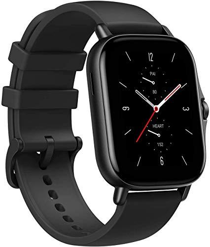 Smartwatch Amazfit GTS 2 è Orologio da polso Nero GPS Multi Sport Tracker Cardiofrequenzimetro Saturimetro