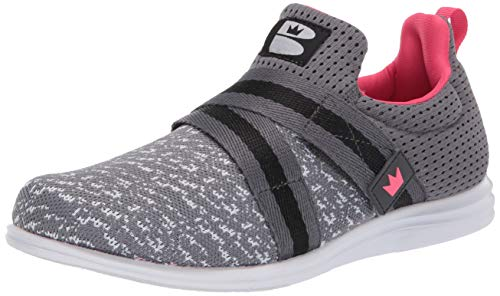 Brunswick Versa Grey/Pink Ladies Size 7.5