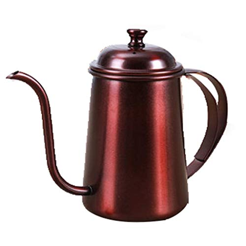 304 RVS Koffiepot Met Venting Gat Ketel Druppel Theepot Geschikt voor Home 22.8 Ounces
