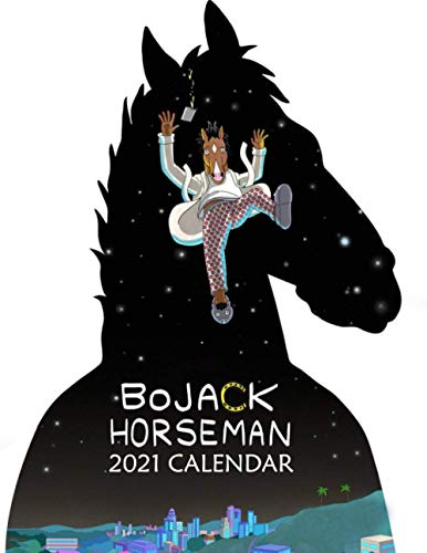 Bojack Horseman 2021 Calendar: Bojack Horseman 2021 Calendar Size 8.5x 11 inches
