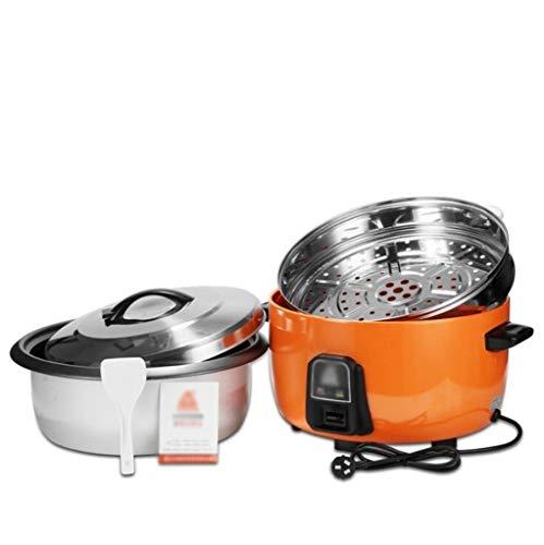 CYXZLOOK Comerciales de Gran Capacidad Cocina eléctrica, un Solo botón de Control automático preservación del Calor Antiadherente Pan 6L-45L, Hotel de Cantina Restaurante Super Gran Cocina de arroz
