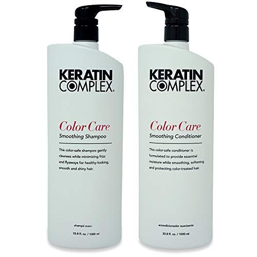 Keratin Complex Color Care Shampoo and Conditioner Set, 33.8 Fl Oz